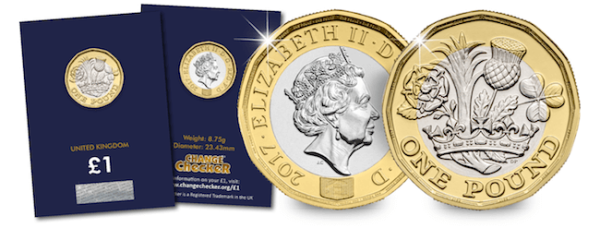 The Nations of the Crown 12-Sided £1 Coin CERTIFIED BU
