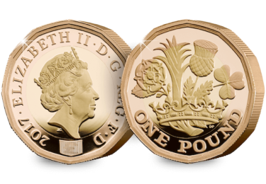 nations of the crown gold proof 1 pound obverse reverse - All you need to know about the new 12-sided £1 Coin Collector Editions