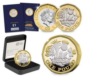 The new 12-sided £1 Coin Range
