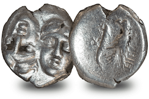 ancient greek mythology coins dioscuri - The coins behind the Ancient Greek myths...