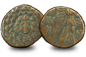 ancient greek mythology coins gorgon - The coins behind the Ancient Greek myths...