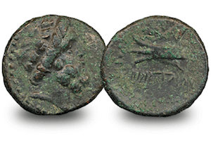 The Ancient Greek Zeus Coin
