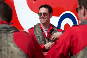 red 9 flight lieutenant emmet cox - As we unveil the brand new Official RAF Red Arrows Commemorative, Red 9 reveals his proudest moment as a Red Arrow...