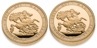 blog image - 200 years of the Sovereign. The UK's First Ever Gold Proof Piedfort Sovereign.