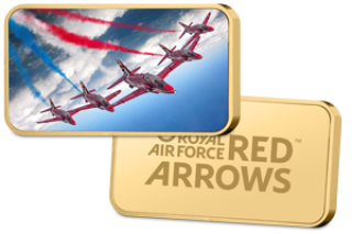 red arrows ingot - As we unveil the brand new Official RAF Red Arrows Commemorative, Red 9 reveals his proudest moment as a Red Arrow...