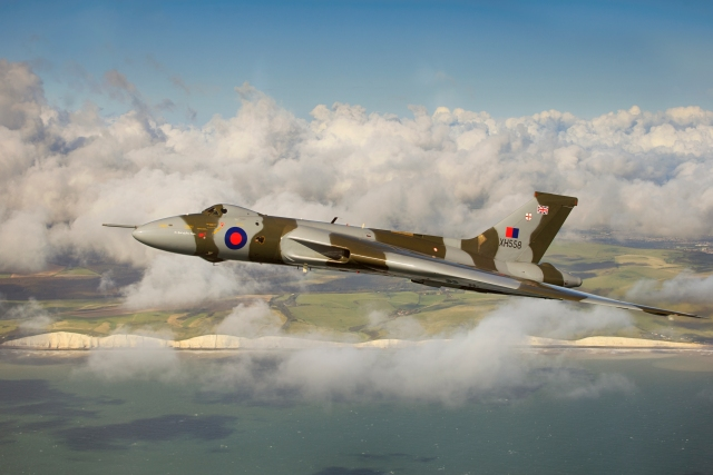 avro vulcan cloudy coastline1 - Poll: Which Avro Vulcan photograph do you prefer?