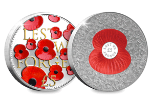 previous poppy coins - Supporting The Royal British Legion