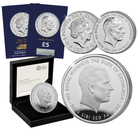 prince philip life of service 2017 uk all together - Released today: the new 2017 United Kingdom Prince Philip £5 coin