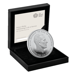Prince-Philip-life-of-service-2017-UK-£5-Silver-Proof-box