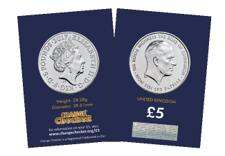 prince philip life of service bu in packaging - Released today: the new 2017 United Kingdom Prince Philip £5 coin