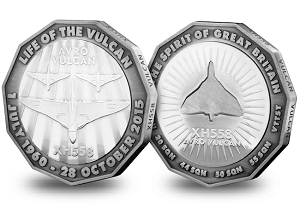 The-Avro-Vulcan-XH558-Commemorative-Silver-Plated-Medal