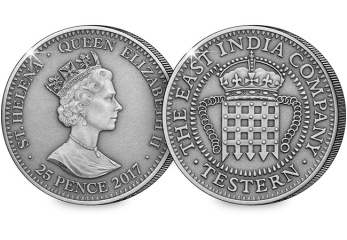 east india company testern coin obverse reverse - The story behind England's first colonial coinage…