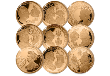 eic empire collection gold proof coin set coins - Why these 9 gold coins tell a story that changed the world…