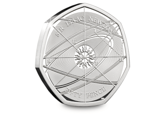 Isaac-Newton-Silver-Proof-50p-Reverse