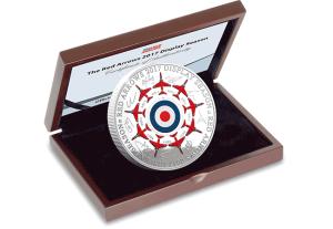 Red-Arrows-2017-Display-Season-5oz-Silver-Commemorative-in-Display-Case