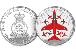 red arrows 2017 display season silver medal obverse and reverse - Is being a Red Arrow just like being in Top Gun? Red 9 reveals all...