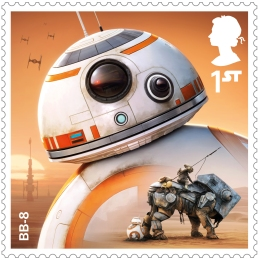 project mars bb 8 stamp 400 - FIRST LOOK: NEW STAR WARS Stamps feature beloved fan-favourites and two NEW characters