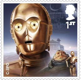 project mars c 3po stamp 400 - FIRST LOOK: NEW STAR WARS Stamps feature beloved fan-favourites and two NEW characters