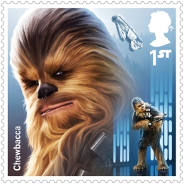 project mars chewbacca stamp 400 - FIRST LOOK: NEW STAR WARS Stamps feature beloved fan-favourites and two NEW characters