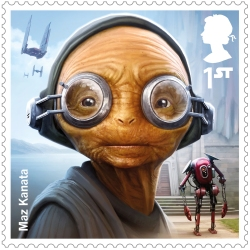project mars maz kanata stamp 400 - FIRST LOOK: NEW STAR WARS Stamps feature beloved fan-favourites and two NEW characters