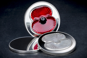 rbl 2017 silver 5oz proof masterpiece poppy coin stages - Just released: The Masterpiece Poppy Coin that's almost TWICE AS LIMITED as last year's issue...