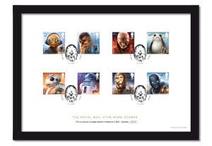 Star-Wars-Stamps-A4-Framed-Collector-Card