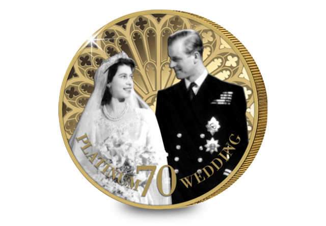 wedding photograph by baron - Poll: Which Platinum Wedding Anniversary coin do you prefer?